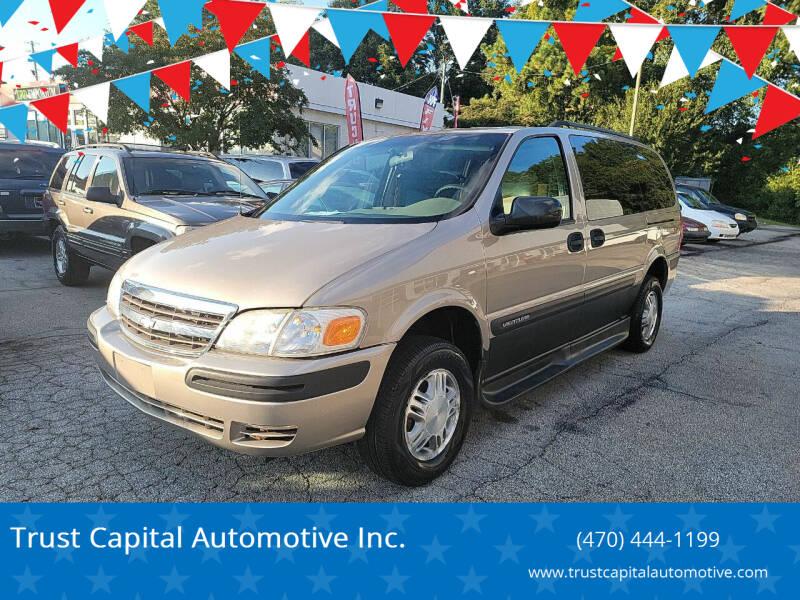 2004 Chevrolet Venture for sale at Trust Capital Automotive Inc. in Covington GA