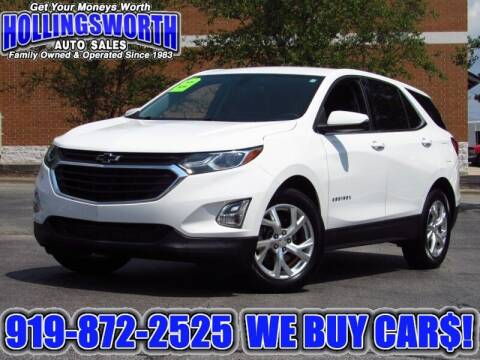 2018 Chevrolet Equinox for sale at Hollingsworth Auto Sales in Raleigh NC