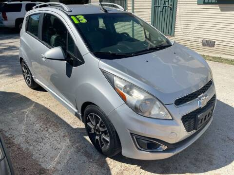 2013 Chevrolet Spark for sale at S & J Auto Group in San Antonio TX