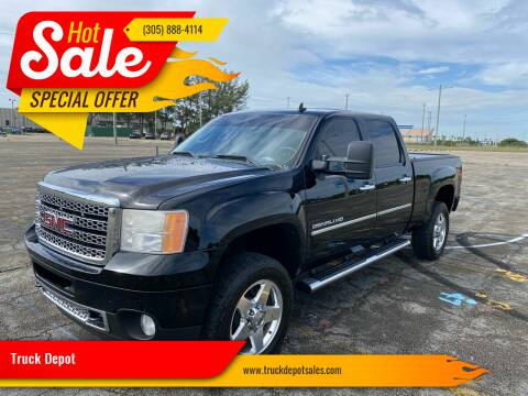 2011 GMC Sierra 2500HD for sale at Truck Depot in Miami FL
