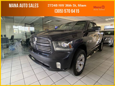 2014 RAM Ram Pickup 1500 for sale at MANA AUTO SALES in Miami FL