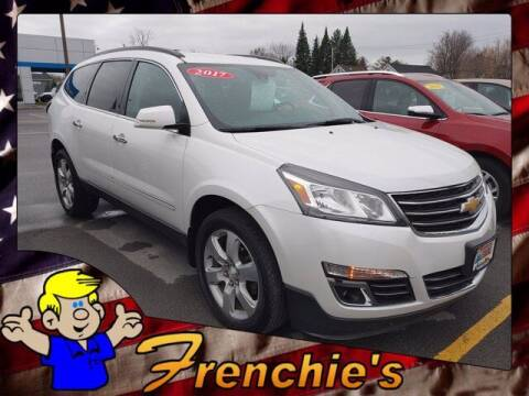 2017 Chevrolet Traverse for sale at Frenchie's Chevrolet and Selects in Massena NY