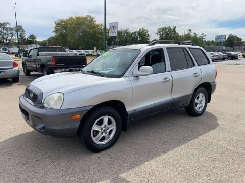 2002 Hyundai Santa Fe for sale at Peak Motors in Loves Park IL
