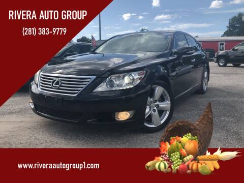 2012 Lexus LS 460 for sale at Rivera Auto Group in Spring TX
