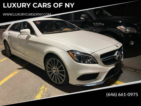 2017 Mercedes-Benz CLS for sale at LUXURY CARS OF NY in Queens NY