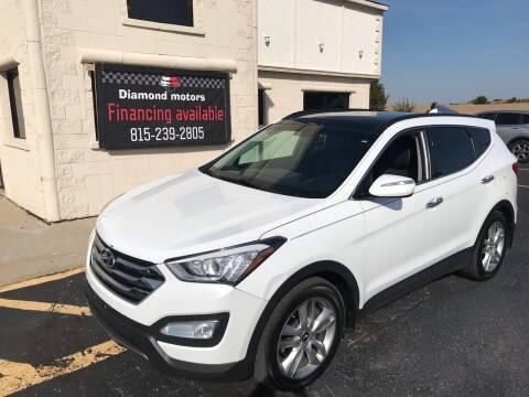 2016 Hyundai Santa Fe Sport for sale at Diamond Motors in Pecatonica IL