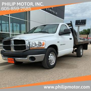 2006 Dodge Ram Pickup 2500 for sale at Philip Motor Inc in Philip SD
