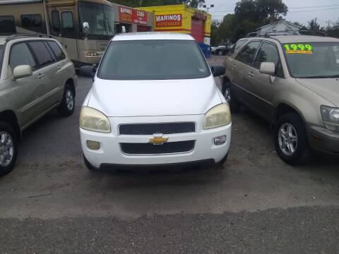 2008 Chevrolet Uplander for sale at Marino's Auto Sales in Laurel DE
