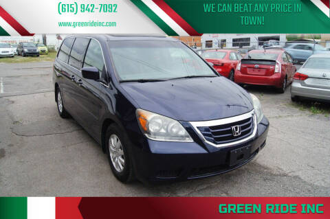 2008 Honda Odyssey for sale at Green Ride Inc in Nashville TN