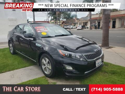 2016 Kia Optima Hybrid for sale at The Car Store in Santa Ana CA