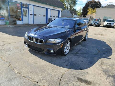 2014 BMW 5 Series for sale at MOE MOTORS LLC in South Milwaukee WI
