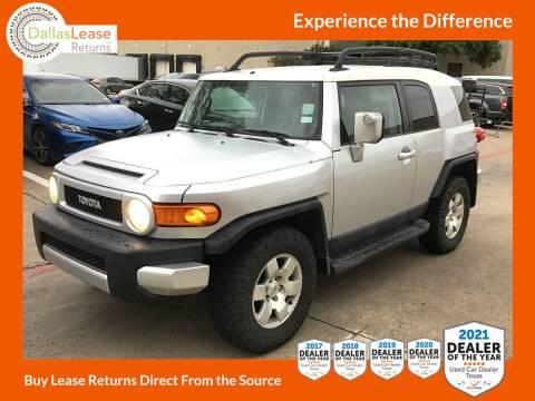 2007 Toyota FJ Cruiser for sale at Dallas Auto Finance in Dallas TX