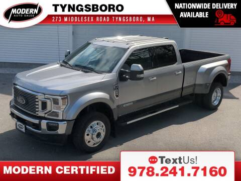 2021 Ford F-450 Super Duty for sale at Modern Auto Sales in Tyngsboro MA