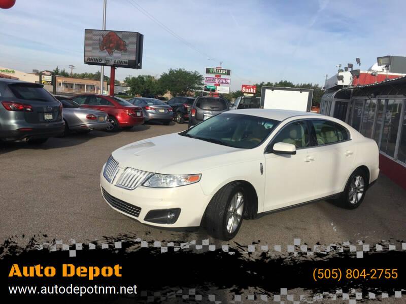 2012 Lincoln MKS for sale at Auto Depot in Albuquerque NM