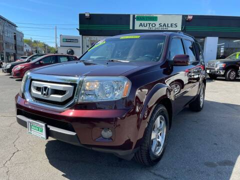 2010 Honda Pilot for sale at Wakefield Auto Sales of Main Street Inc. in Wakefield MA