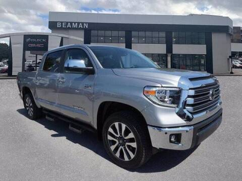 2020 Toyota Tundra for sale at BEAMAN TOYOTA - Beaman Buick GMC in Nashville TN