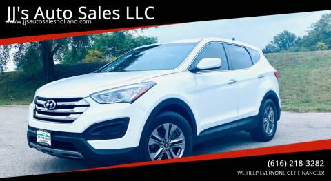 2015 Hyundai Santa Fe Sport for sale at JJ's Auto Sales LLC in Holland MI