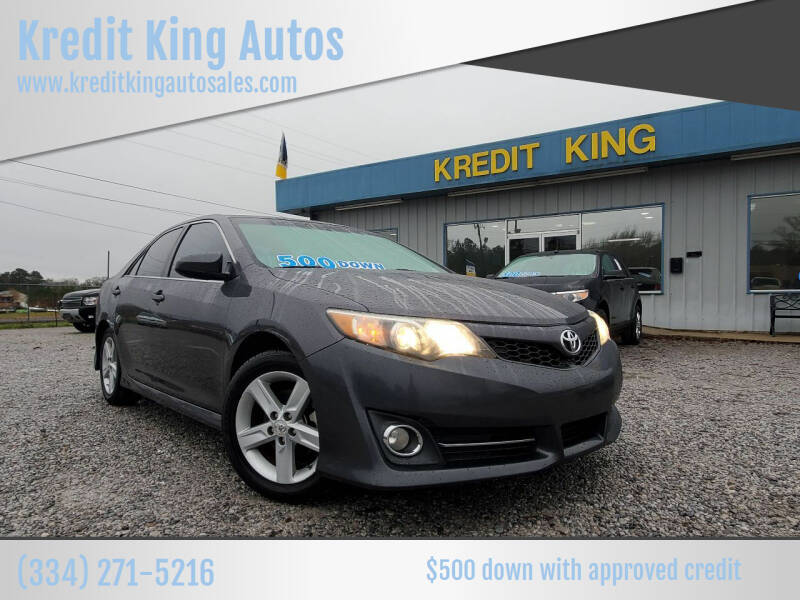 2012 Toyota Camry for sale at Kredit King Autos in Montgomery AL