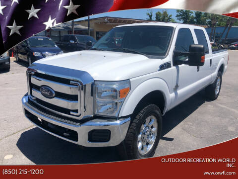 2014 Ford F-250 Super Duty for sale at Outdoor Recreation World Inc. in Panama City FL