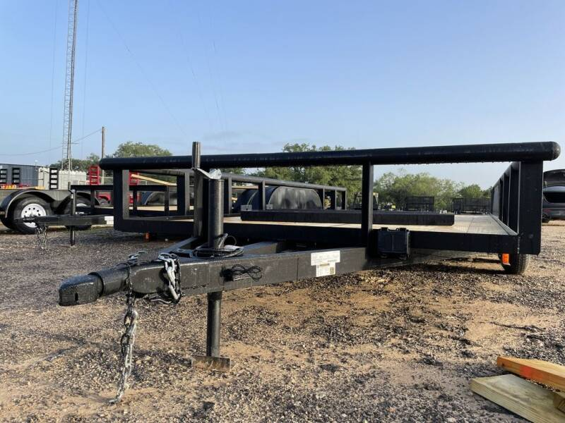 """2021 P & C - 83"""" X 16' - Pipetop - B for sale at LJD Sales in Lampasas TX"""