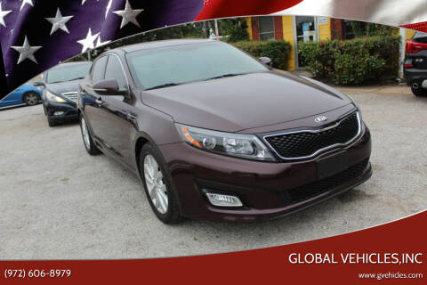 2014 Kia Optima for sale at Global Vehicles,Inc in Irving TX