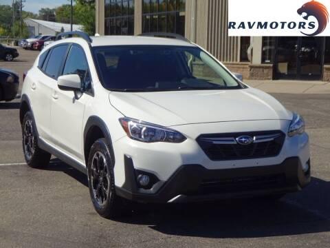 2021 Subaru Crosstrek for sale at RAVMOTORS 2 in Crystal MN