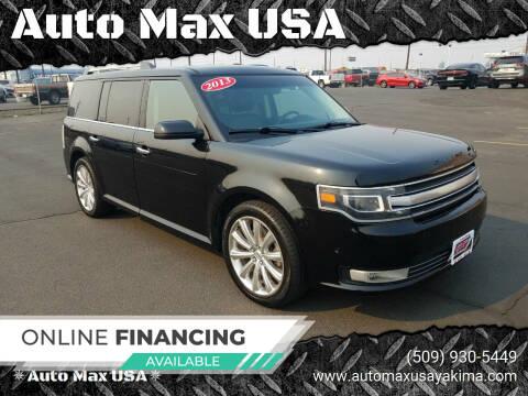 2013 Ford Flex for sale at Auto Max USA in Yakima WA