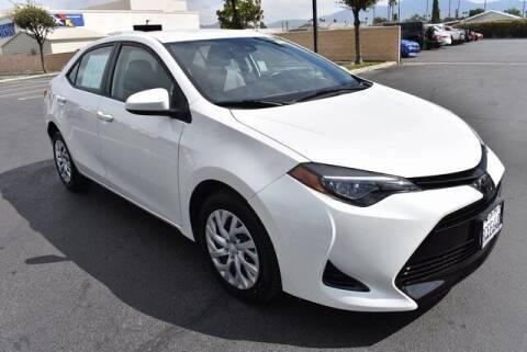 2018 Toyota Corolla for sale at DIAMOND VALLEY HONDA in Hemet CA
