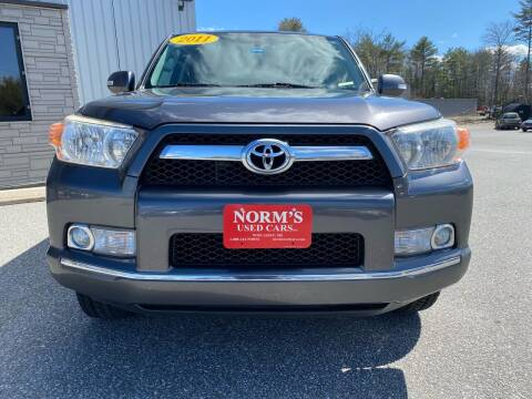 2011 Toyota 4Runner for sale at NORM'S USED CARS INC - Trucks By Norm's in Wiscasset ME