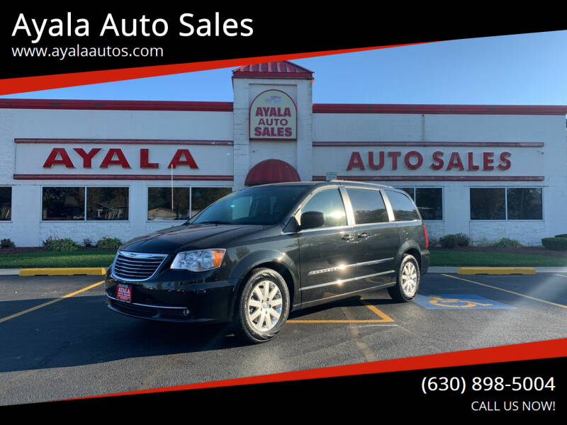 2014 Chrysler Town and Country for sale at Ayala Auto Sales in Aurora IL