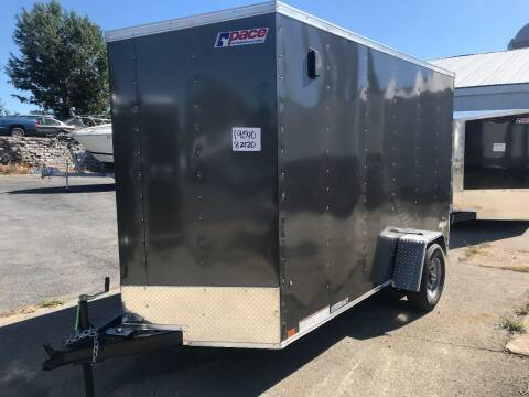 2021 Pace American 6x12 V-nose Single 5k Axle
