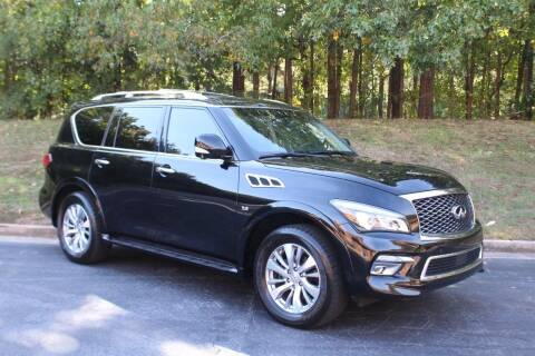 2015 Infiniti QX80 for sale at El Patron Trucks in Norcross GA
