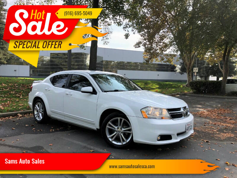 2012 Dodge Avenger for sale at Sams Auto Sales in North Highlands CA