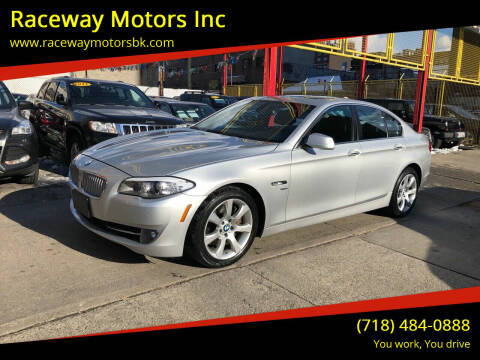 2011 BMW 5 Series for sale at Raceway Motors Inc in Brooklyn NY