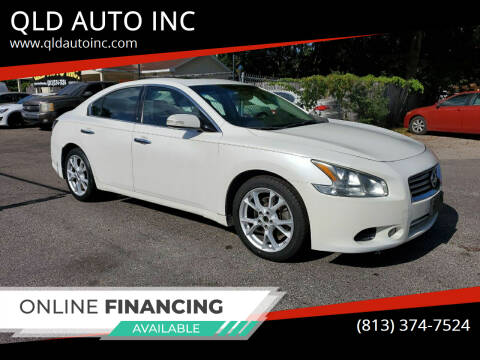 2012 Nissan Maxima for sale at QLD AUTO INC in Tampa FL