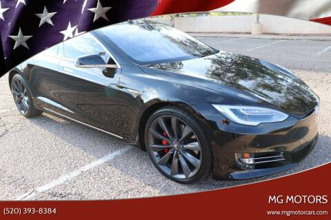 2016 Tesla Model S for sale at MG Motors in Tucson AZ