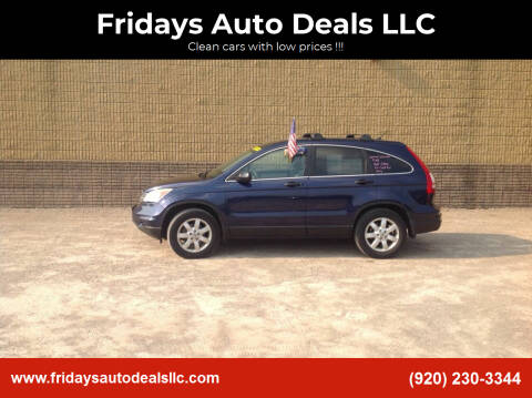 2011 Honda CR-V for sale at Fridays Auto Deals LLC in Oshkosh WI