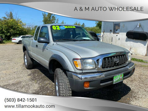 2002 Toyota Tacoma for sale at A & M Auto Wholesale in Tillamook OR