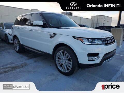 2014 Land Rover Range Rover Sport for sale at Orlando Infiniti in Orlando FL