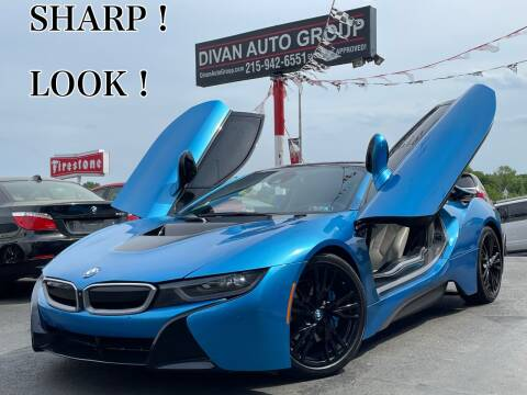2015 BMW i8 for sale at Divan Auto Group in Feasterville Trevose PA