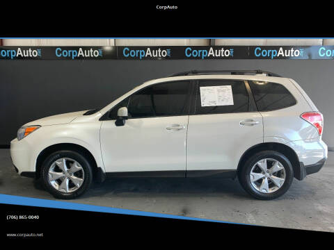 2016 Subaru Forester for sale at CorpAuto in Cleveland GA