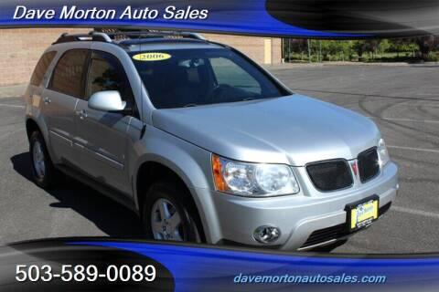2006 Pontiac Torrent for sale at Dave Morton Auto Sales in Salem OR