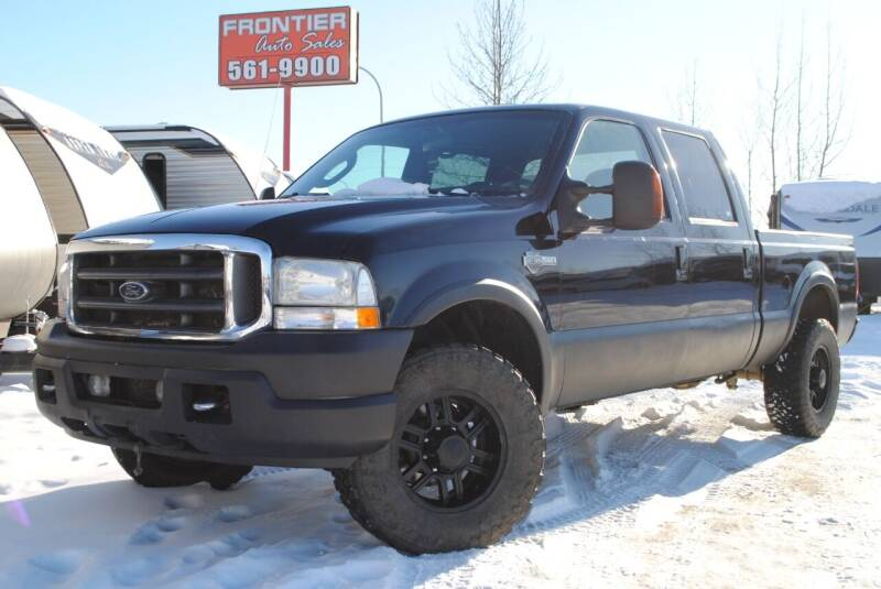 2004 Ford F-250 Super Duty for sale at Frontier Auto & RV Sales in Anchorage AK