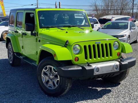 2012 Jeep Wrangler Unlimited for sale at A&M Auto Sales in Edgewood MD