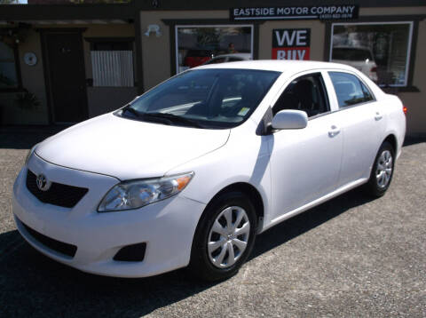 2010 Toyota Corolla for sale at Eastside Motor Company in Kirkland WA