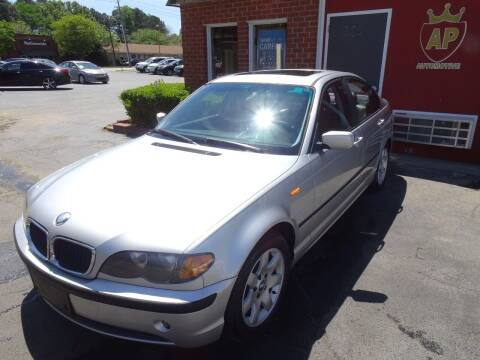 2003 BMW 3 Series for sale at AP Automotive in Cary NC