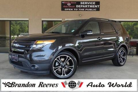 2015 Ford Explorer for sale at Brandon Reeves Auto World in Monroe NC