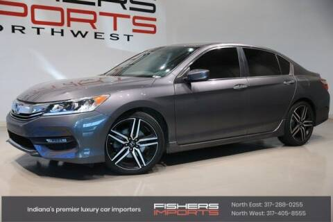 2017 Honda Accord for sale at Fishers Imports in Fishers IN