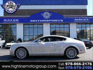 2010 Bentley Continental for sale at Highline Group Motorsports in Lowell MA