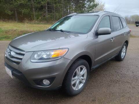 2012 Hyundai Santa Fe for sale at Eau Claire Auto Exchange in Elk Mound WI